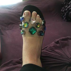01a6c03f2e86 Steve Madden Shoes -   Steve Madden   Jeweled Slide Rosalyn Sandals